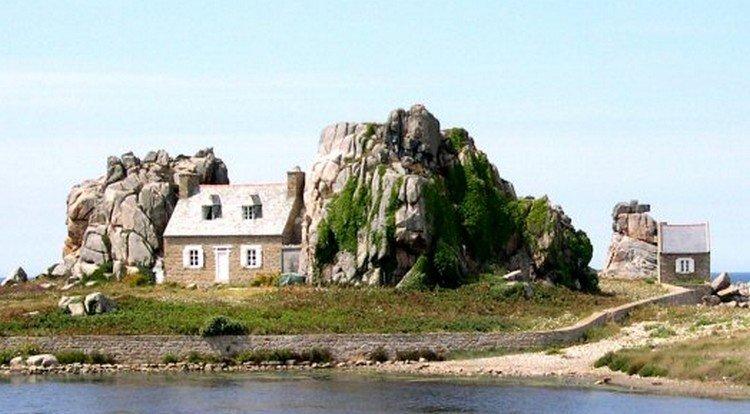 Quelle est la maison de tes r ves plius - Maison entre les rochers ...
