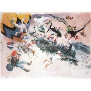 affiche-poster-bd-follet-hommage-bd-charleroi-tintin-spirou-02
