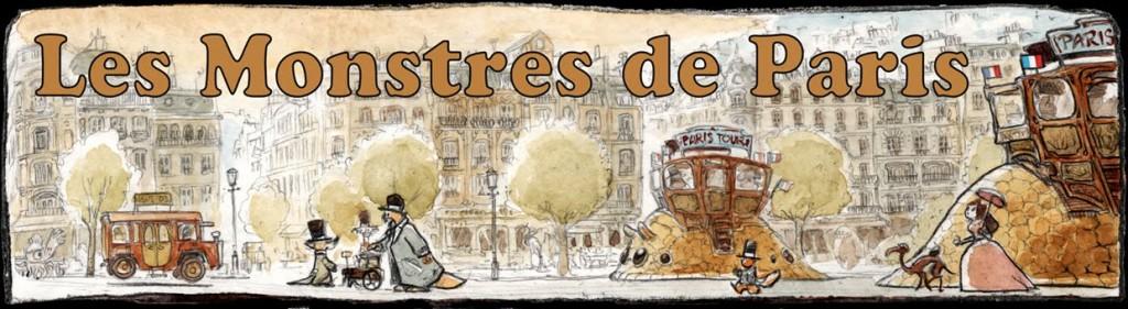 Les Monstres de Paris dans Echanges banniere