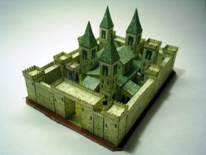 medieval-castle-papercraft-church-300x225