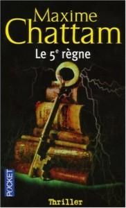 Le 5em Règne par Maxime Chattam 51cf4t1m50l._-182x300