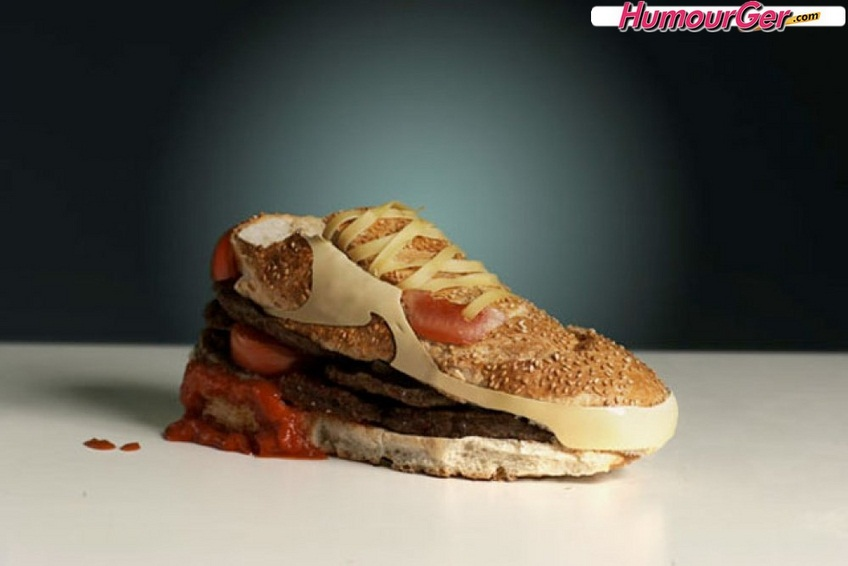 courir dans Humour nike_air_max_90_burger_humour